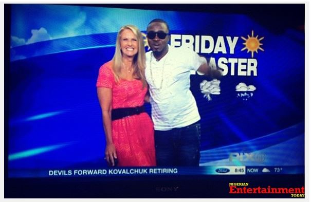 Ice-Prince Presents Weather Report In Pidgin On American Channel 11