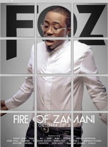 Ice Prince unveils F.O.Z album cover and details