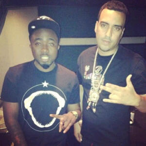 [PIC] Ice Prince Makes A Song With US Rapper, French Montana